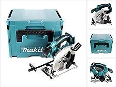 Makita DSS 611 ZJ Battery Hand Circular Saw 18V 165 mm Solo in Makpac - zonder batterij, zonder lader*