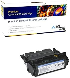 AIM Compatible MICR Replacement for IBM InfoPrint 1532/1552/1572 Toner Cartridge (21000 Page Yield) (75P6959) - Generic