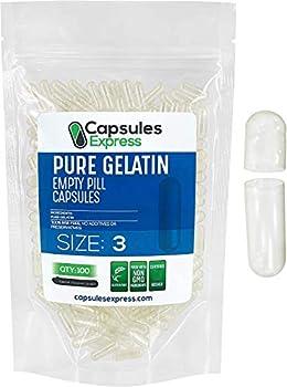 Best empty gelatin capsules size Reviews