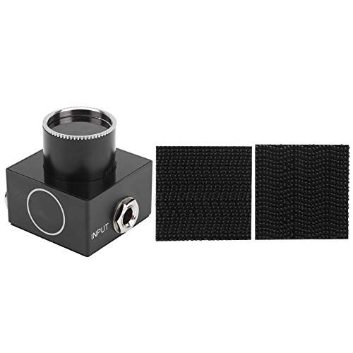 Sintonizador de pedal de pantalla LED portátil Mini sintonizador de pedal de color para accesorios de repuesto de guitarra eléctrica