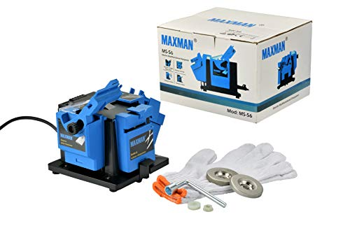 MAXMAN Multi-Functional Electric Knife Sharpener/Chisel/Plane Blade/HSS Drill Sharpening Machine Use For Kitchen Knives Power Tools