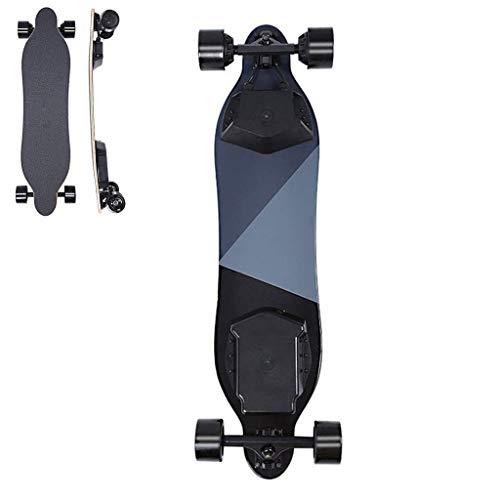 YZ Skateboard, elektrisches Longboard 40 km/h Klettersteigung 25 deg; -30 Bambus + Fiberglas Silent Material Tragbar Erwachsene Unisex Leichtgewicht