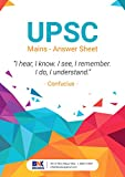 Spiral UPSC Practice Notebook- A4 Size - Pack of 1 Notebook UPSC , 400 pages||Weight: 650 Gm