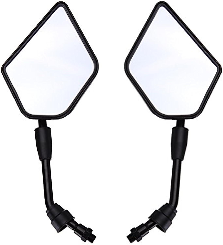 CoCocina Motorcycle Rear View Mirrors for Kawasaki KLX250 KLX650