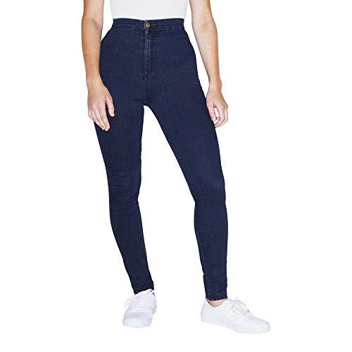 American Apparel Women's The Easy Jean, Dark Wash, XX-Small