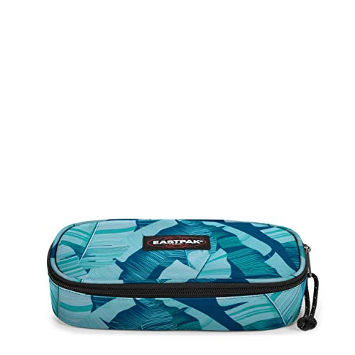Eastpak Oval Single Astuccio, 22 cm, Blu (Brize Banana)