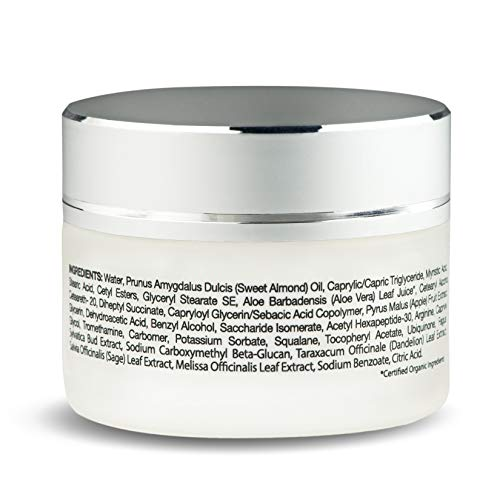 41ae+G90ClL - GIA BENNET Premium Wrinkle Freezing Moisturizer for Firm Skin Structure, Day and Night Ultimate Luxury Revitalizing Cream- Age Defying Spa, 1oz / 30ml