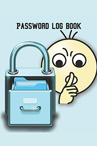 Password Log book: Handy size Internet  password notebook. Useful for organizing all those websites, passwords, usernames, email addresses and security questions
