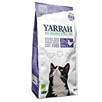 Yarrah Organic Sterilised Grain Free with Organic Chicken & Fish 2kg High-quality dry food for sterilised adult cats Premium ingredients of organic quality Weight control: reduced fat contain to make it easy to control weight in castrated or sterilis...
