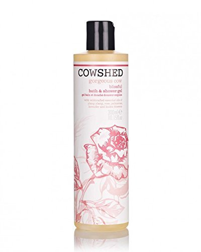 Cowshed Gorgeous Cow Blissful Bath & Shower Gel for Women, 10.15 Ounce