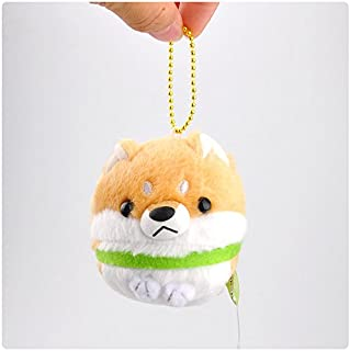 Yuziyu Dog Pendant Plush Toy Mini Japanese Shiba Inu Series Cute Hang Decoar Small Ornaments
