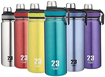 Cille 24oz Stainless Steel BPA Free Insulated Water Bottle