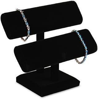Black Velvet 2 Tier Bracelet Watch T-Bar 7