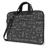 Bolso para computadora portátil Funda Protectora para computadora portátil Bolso antiarañazos Fórmula química Gráficos matemáticos Ecuaciones de cálculo