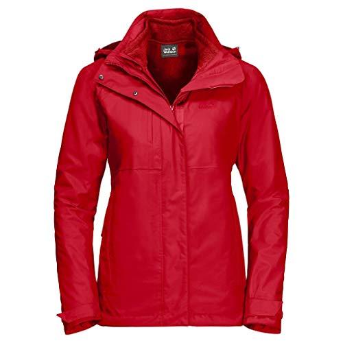 Jack Wolfskin Echo Pass damska kurtka czerwony czerwony (Red Fire) 3