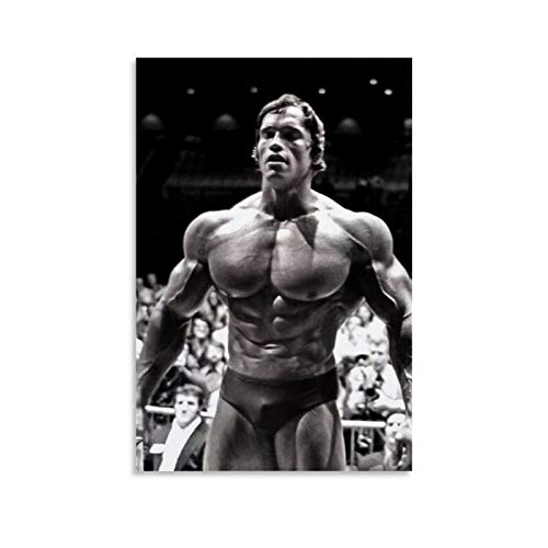 ASDASDF Mr. Arnold Schwarzenegger Olympia is Full of Muscle Canvas Art Poster and Wall Art Picture Print Modern Family Bedroom Decor Posters 08x12inch(20x30cm)
