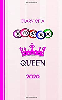 Diary Of A Bingo Queen: Week Plus Month To View January to December 2020 (Planners One Year 2020)