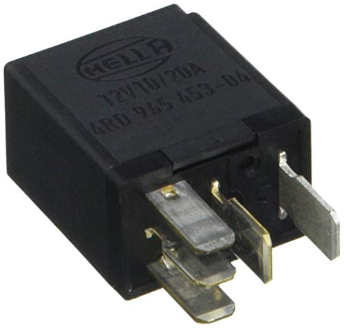 HELLA 4RD 965 453-041 Relais, Arbeitsstrom - 12V - 5-polig - Schaltbild: W2 - Steckerausf.-ID: C1 - Wechsler - ohne Halter
