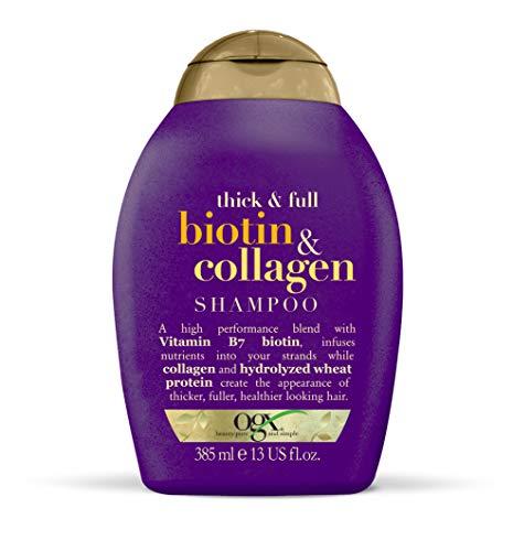 OGX Thick & Full Biotin & Collagen Shampoo, 1er Pack (1 x 385 ml)