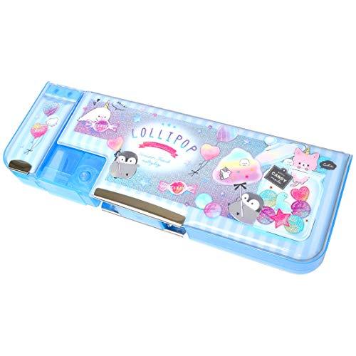 筆箱 小学生 女の子 かわいい 両面 箱型 ペンケース おしゃれ 韓国 オルチャン 文房具 小学校 入学準備 女子 トレンド ファンシー ふでばこ 可愛い