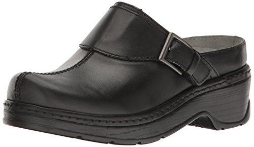 Klogs USA Women's Austin, Black Smooth, 9 W (E)