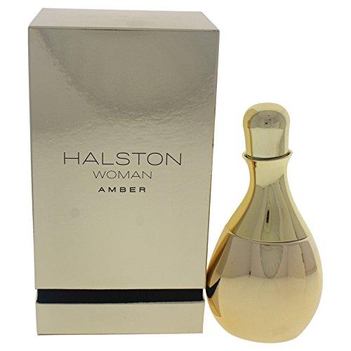 Halston Woman Amber for Women Eau de Parfum Spray, 3.4 Ounce