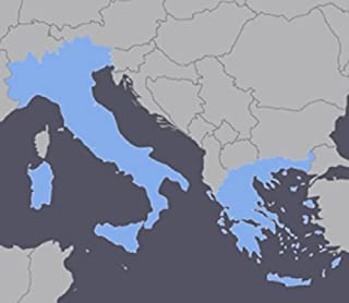 Italy and Greece GPS Map 2019.3 for Garmin Devices