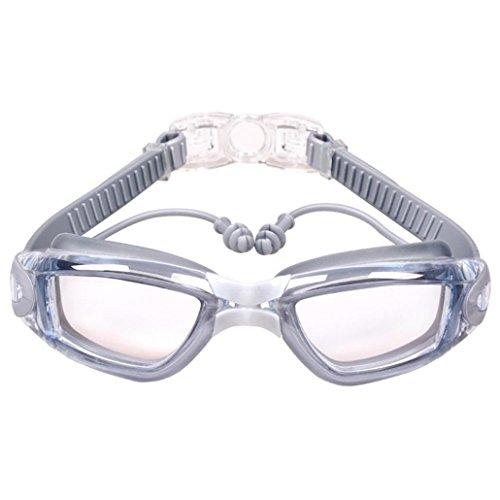 Coolster Männer Frauen Goggles Anti-Fog UV Schutz Schwimmbrille wasserdichte Schwimmbrille (G)