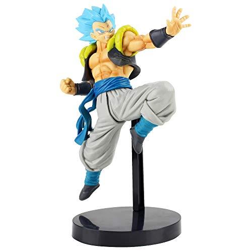 Yzoncd Dragon Ball Z Super Saiyan Blue Gogeta Broly PVC Figura De Acción De Colección Modelo De Juguete 20Cm
