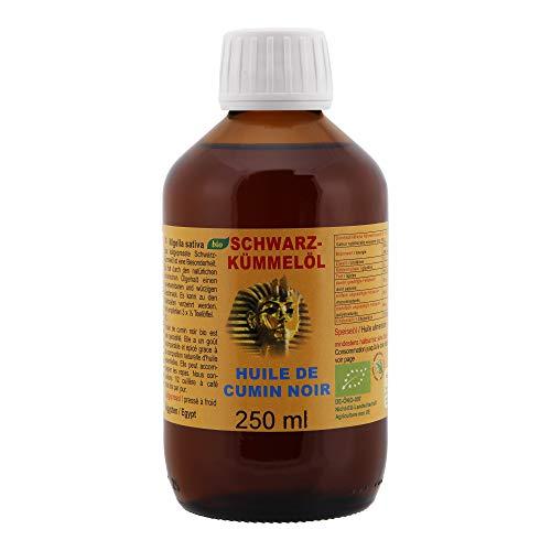 Original Ägyptisches Bio Schwarzkümmelöl - Das orientalische Gold - einzigartig würziger Geschmack - kaltgepresst in Deutschland