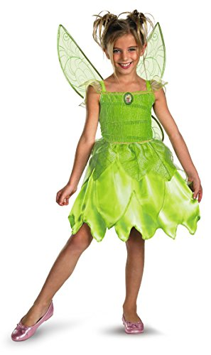 Disguise Disney Tinker Bell and The Fairy Rescue Classic Girls' Costume, X-Small (3T-4T)