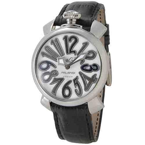 GaGaMILANO ガガミラノ 男女兼用 腕時計 マヌアーレ 40MM アッチャイオ 5020.5 BK メンズ レディース [並行輸入品]