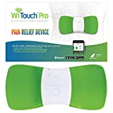 WiTouch Pro Wireless TENS Unit Made in USA FDA Cleared for Pain Management Includes 3 Reusable Gel Pads Operates via Bluetooth Technology