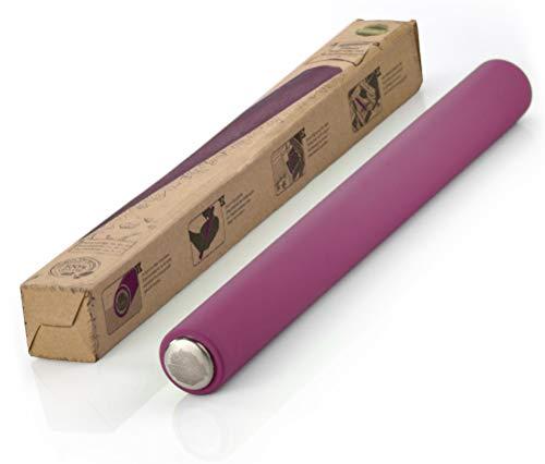 TreeBox Mattarello Professionale in Silicone e Acciaio Inox, Rullo Lungo per Pizza,...