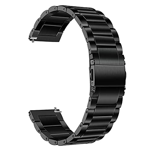 TRUMiRR Reemplazo para Samsung Galaxy Watch 3 45mm/Galaxy Watch 46mm/Gear S3 Titan Pulsera, 22mm...