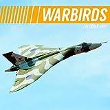 2021 Wall Calendar - Warbirds Calendario, 30 X 30 Centimetri Vista Mensile, 16 Mesi, Jets E Aerei, Comprende 180 Adesivi In Inglese