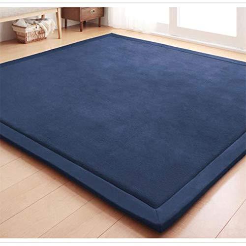 Metermall Home Groot formaat tapijt dik antislip tatami tapijt tapijt woonkamer slaapkamer baby kruipen pad