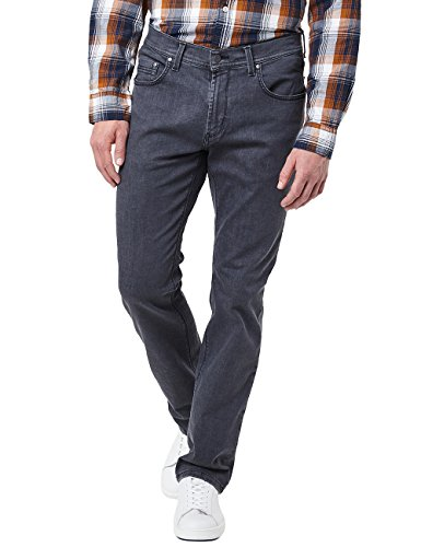 Pioneer Herren Rando MEGAFLEX Straight Jeans, Grau (Grey 13), W42/L32