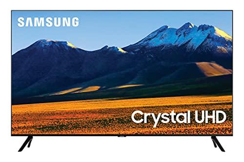 SAMSUNG 86-inch Class Crystal UHD TU9010 Series - 4K UHD LED Smart TV with Alexa Built-in...