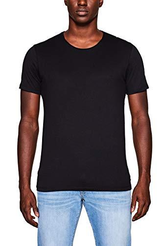 edc by Esprit 998cc2k802 Camiseta, Negro (Black 001), Medium para Hombre