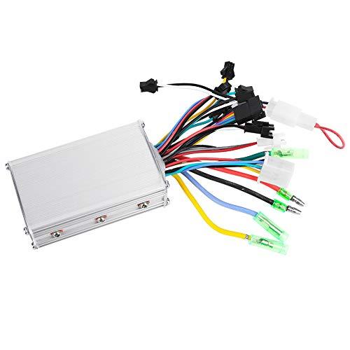 Zyyini Borstelloze controller voor motor, scooter, motorcontroller met lcd-display, toetsen voor snelle bediening, eenvoudig te bedienen voor sturen met 22,5 mm