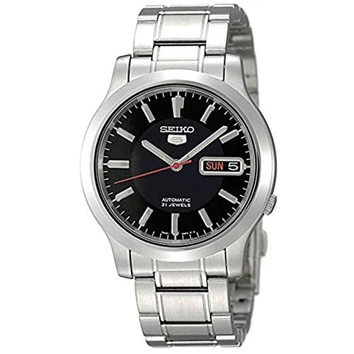 SEIKO SNK795K1 - Reloj automático día/fecha, serie 5