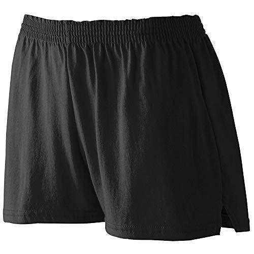 Ladies 2XL Black Jersey Shorts