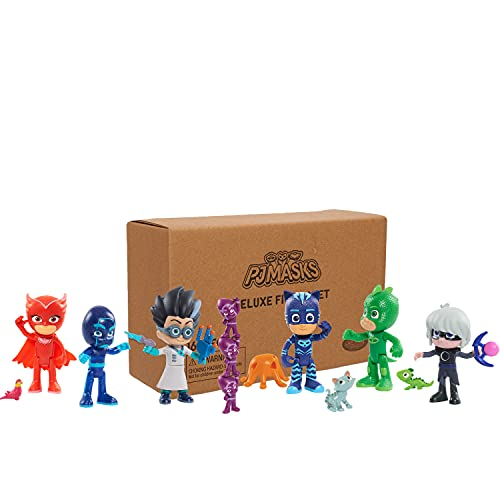 Just Play PJ Masks Deluxe 16-Piece Figure Set