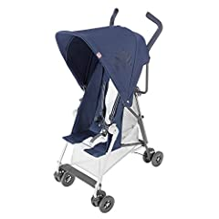 Basic weight of 3.3kg/7.2lb; Ideal for children 6 months and up to 25kg/55lb A two-position recline seat with breathable mesh center panel inserts Includes a Coordinating Seat Liner, Buggy ID Tag and premium wind-resistant Rain cover in-the-box; Easi...
