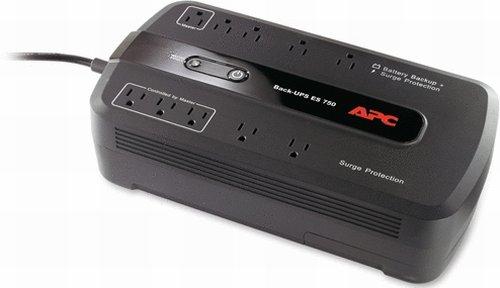 APC Back-UPS Battery Backup & Surge Protector (BE750G)