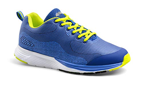 MY-DAY Fitness Schuhe Aquarium blau/gelb