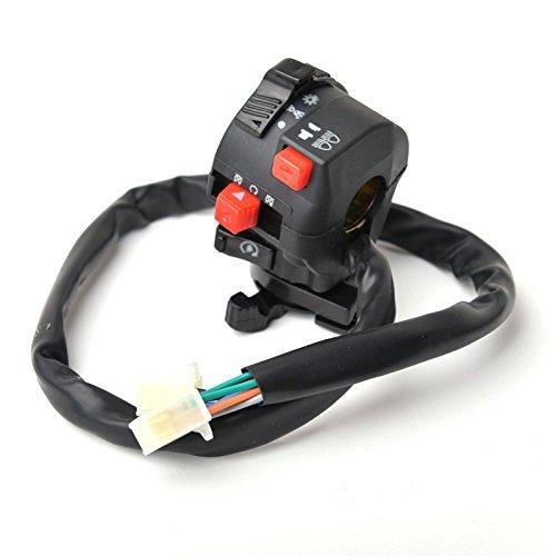 HASAKA Interruptor chino ATV Mini Quad de control lateral izquierdo 50CC 70CC 90CC 110CC 125CC 150CC