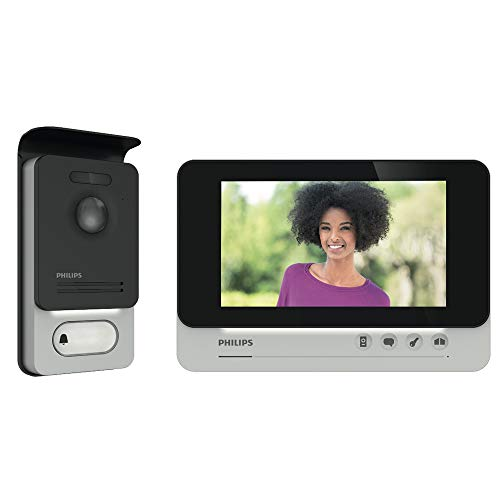 "PHILIPS WelcomeEye COMFORT - Videosprechanlage - 2 Draht Technik - 7"" Display - DES 9500 VDP"