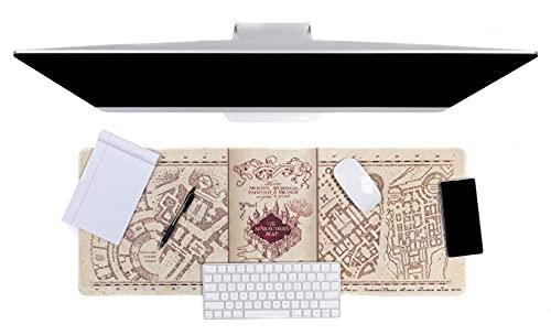 Paladone Harry Potter PP8826HP Gaming-Schreibtischunterlage, 40 cm x 80 cm, Schreibtischunterlage für Büro und Zuhause, Beige, Einheitsgröße